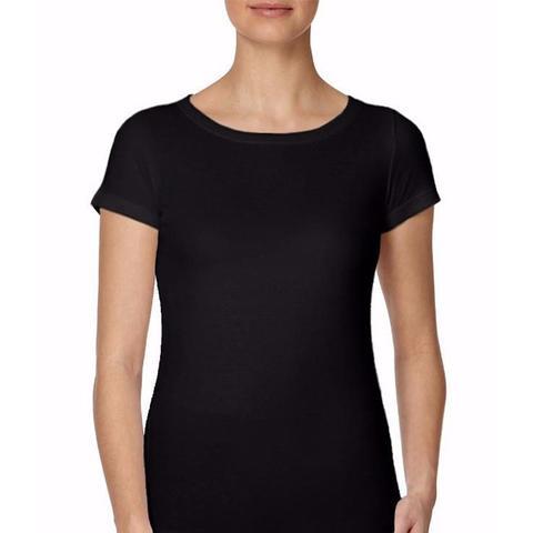 Short Sleeve Crew Neck Cotton Modal T-Shirt