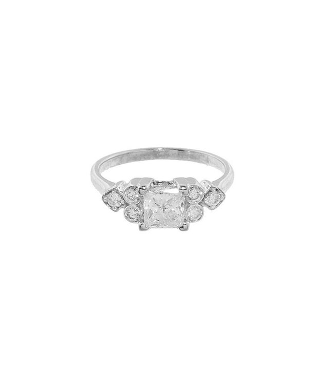 Sethi Couture Princess Cut Solitaire Ring