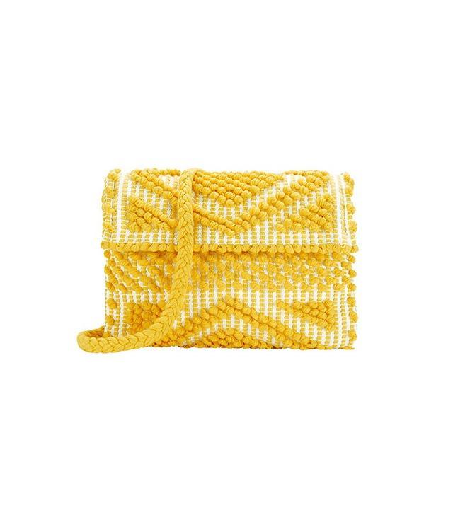 Antonello Exclusive for Intermix Suni Foldover Cotton Clutch
