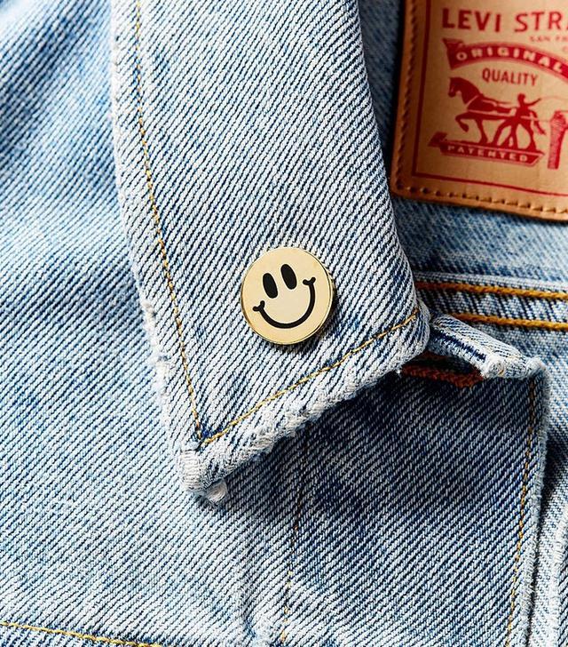 Big Bud Press Smiley Pin