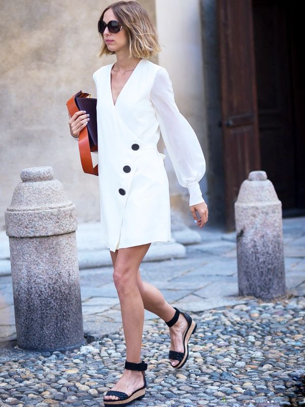 How to Wear Flat Shoes: espadrilles