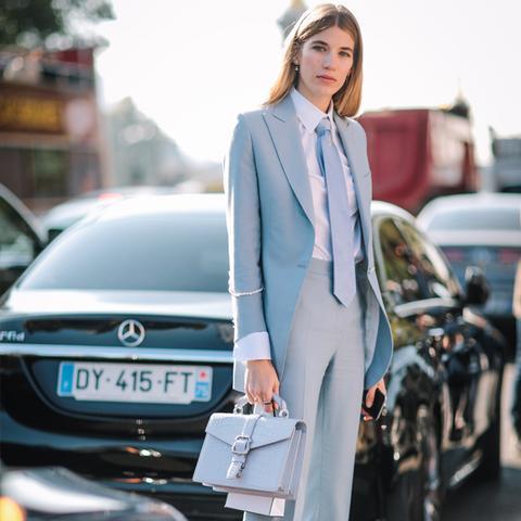 How to Wear Flat Shoes: Veronika Heilbrunner