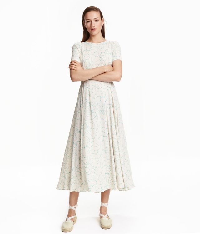H&M Patterned Maxi Dress