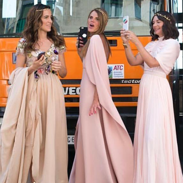 Is the Fashion World Over Matching Bridesmaid Dresses?