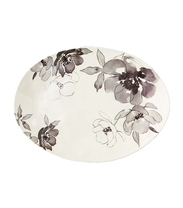 Terrain Floral Sketch Melamine Serving Tray