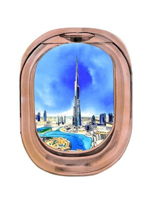 6 Things to Do During a 16-Hour Flight to Dubai