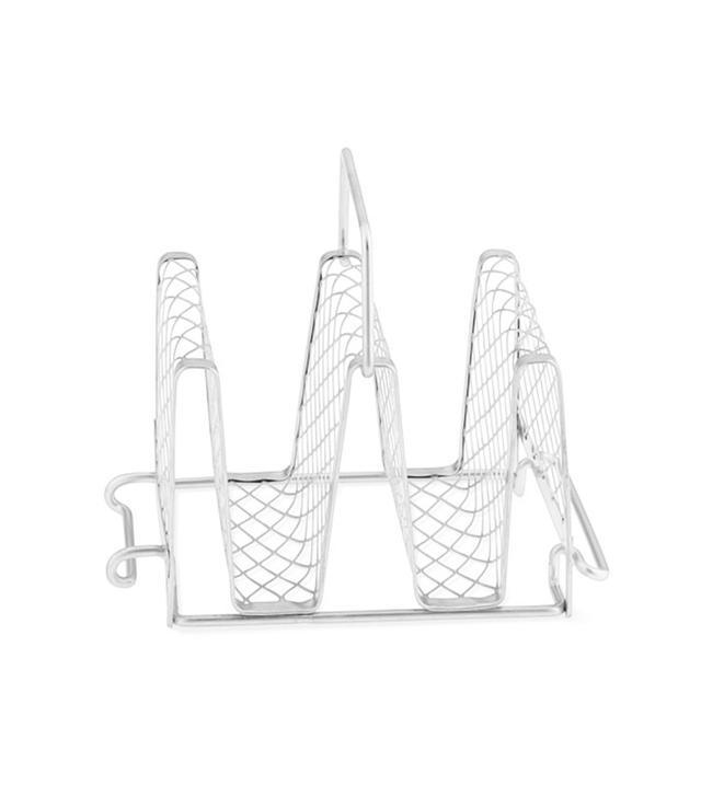 Williams-Sonoma Stainless-Steel Interlocking Taco Rack