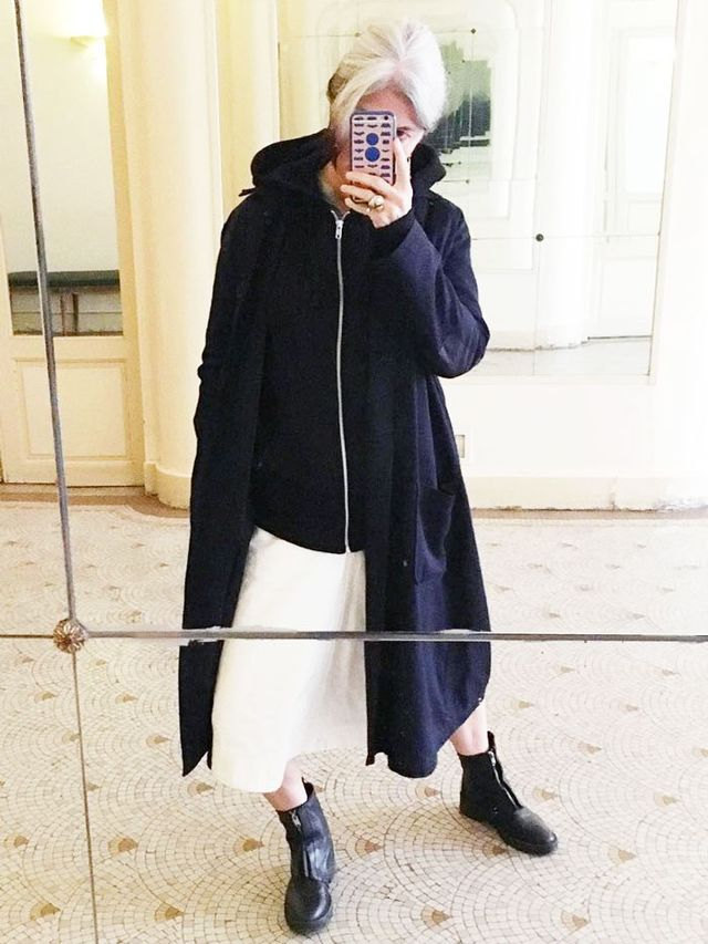 This 54-Year-Old French Woman Has The Most Stylish -3816