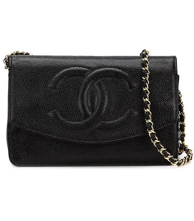 Chanel Vintage CC Logo Crossbody Bag