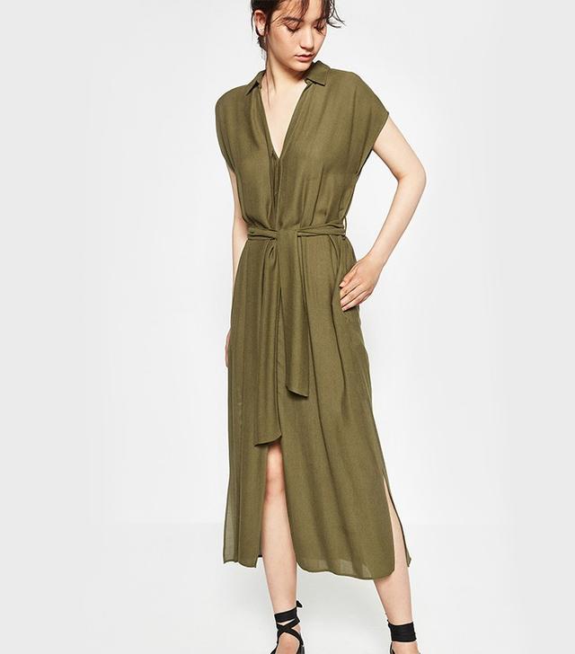 Zara Dress With Slits