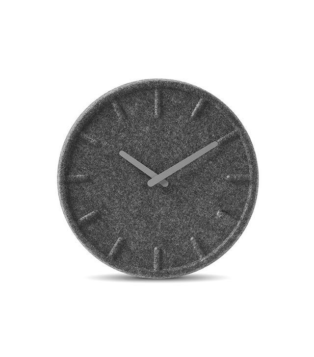 Burke Decor Felt Wall Clock
