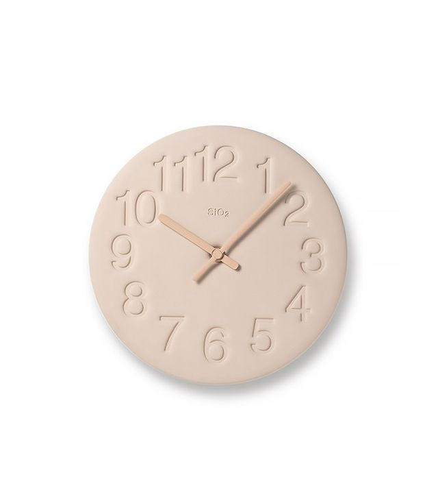 Lemnos Earth Wall Clock