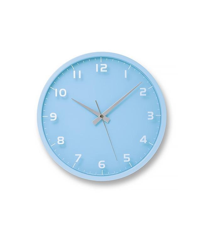 Lemnos Nine Wall Clock