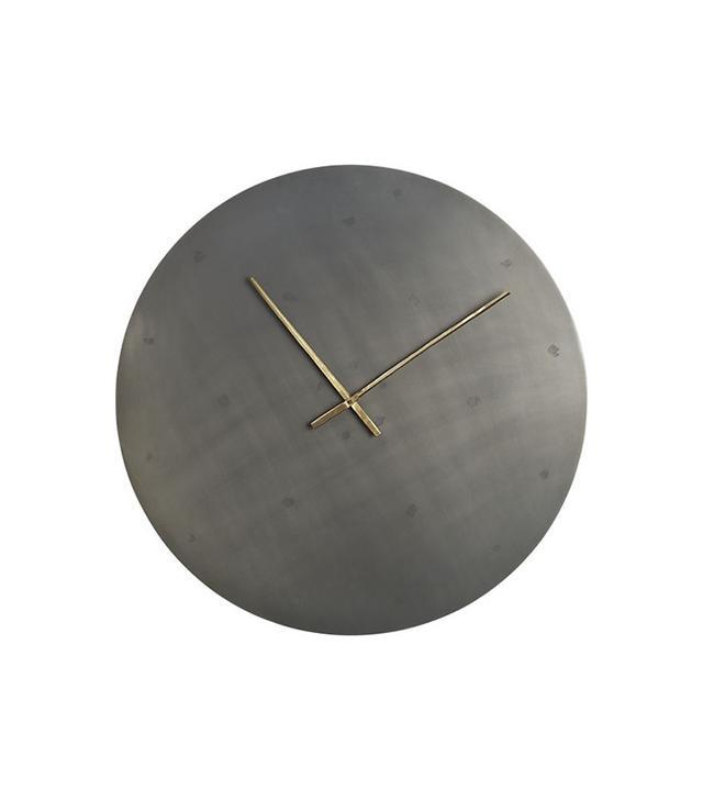 CB2 Iron Circle Wall Clock