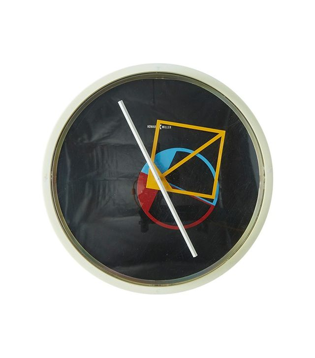 George Nelson Memphis Style Wall Clock