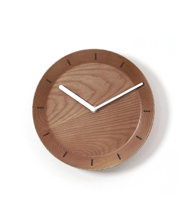 CB2 Bevel Wall Clock