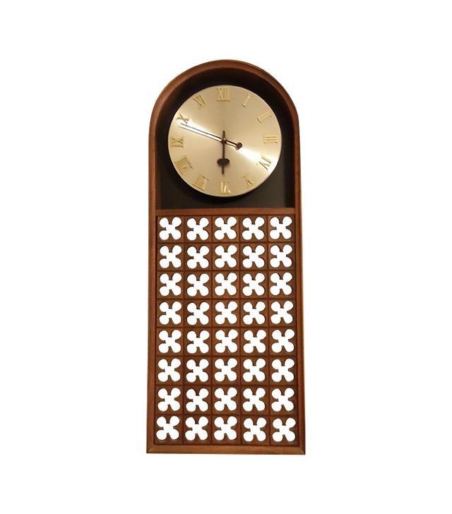 Vintage Mediterranean Style Wall Clock