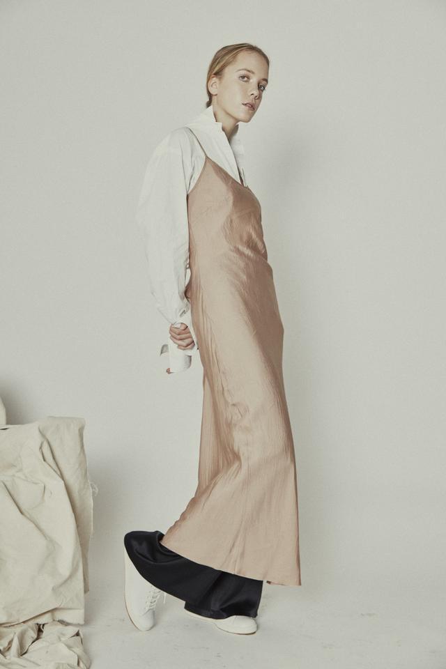 Layer slip dress over slip dress