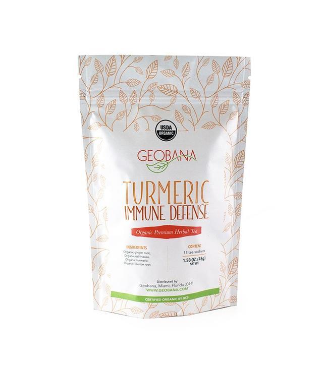 Geobana Turmeric Immune Defense Herbal Tea