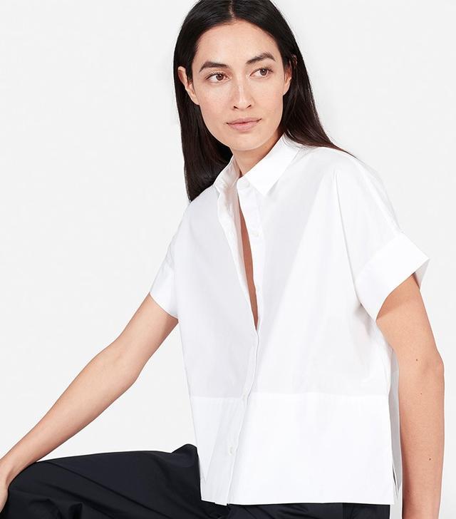 Everlane The Cotton Poplin Square Shirt