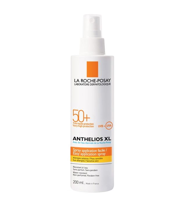 How to get rid of back acne: La Roche-Posay Anthelios SPF 50+ Spray