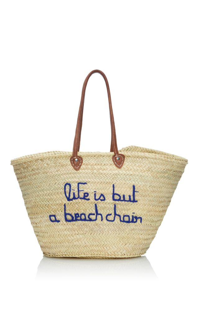 Poolside Life Is But a Beach Chair Panier Tote