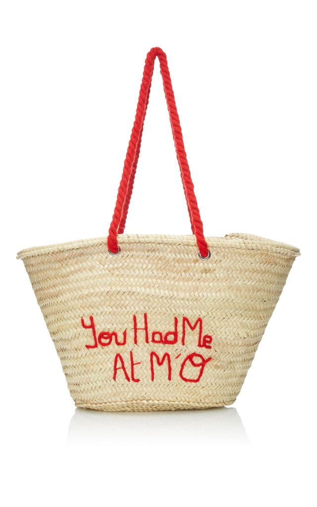 Poolside You Had Me at M'O Panier Tote