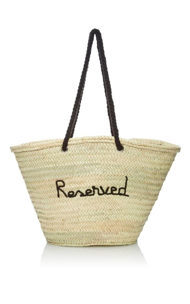 Poolside Reserved Panier Tote