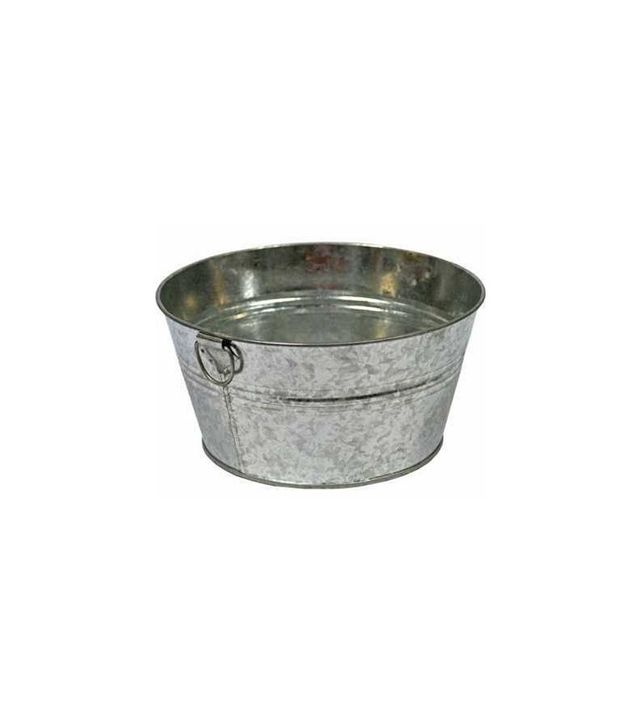 Factory Direct Galvanized Metal Wash Tub