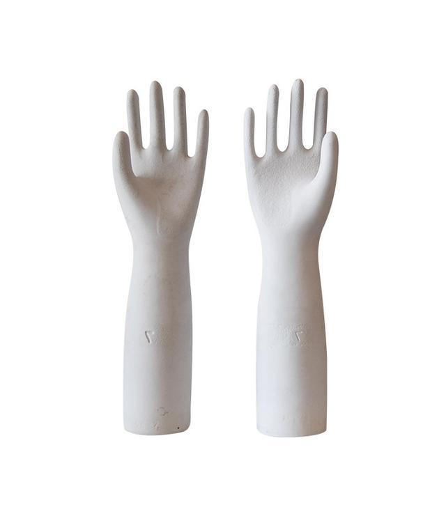 Chairish Vintage Porcelain Glove Molds