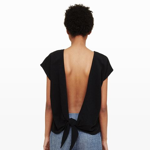 Tyrone Tie-Back Top