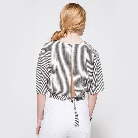 Wes Open Back Top