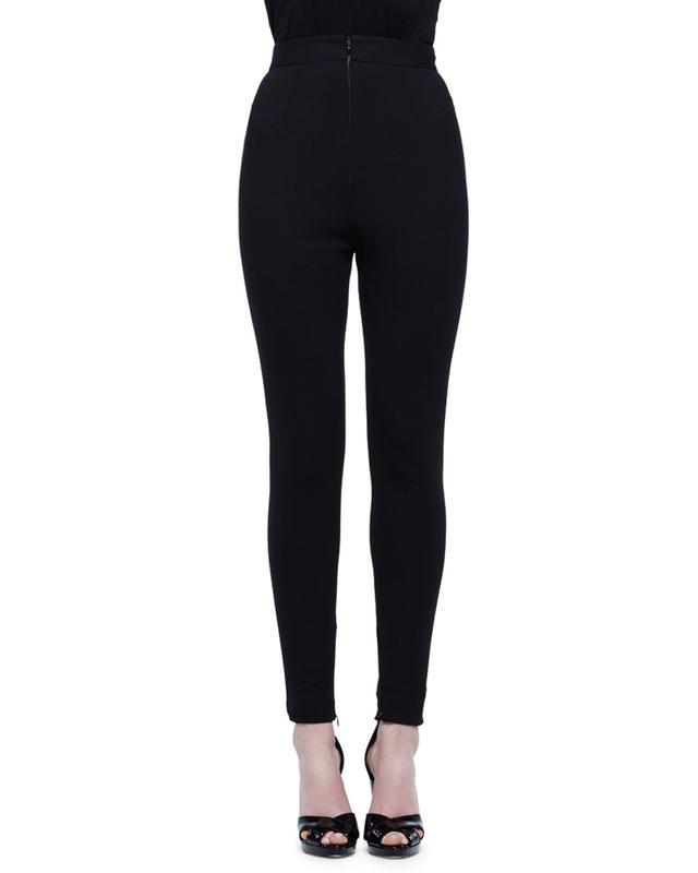 Alexander McQueen High-Waist Legging Pants