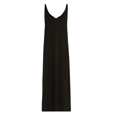 Skinny-Strap Cotton-Jersey Dress