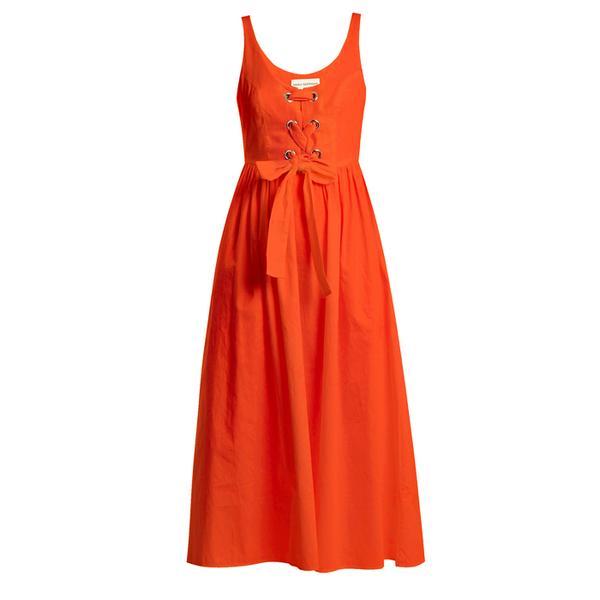 Best Summer Dress: Mara Hoffman Athena Lace-up Woven Dress