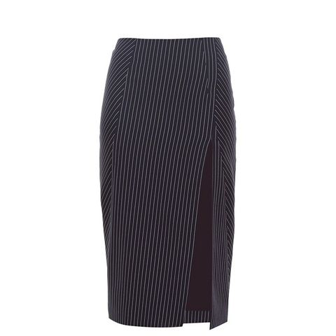 Matisse Pinstriped Pencil Skirt