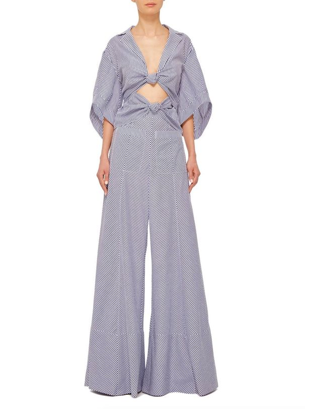 Rosie Assoulin Knotty by Nature Jumpsuit