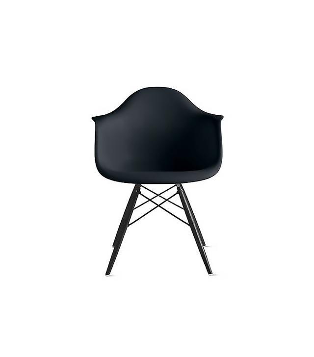 Eames Molded Plastic Dowel-Leg Armchair