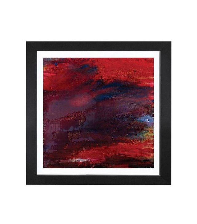 Scott Petrie Zig Zag Black Framed Print