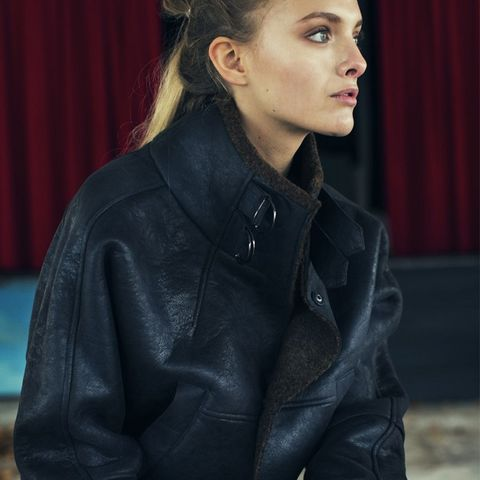 Ana Shearling Jacket