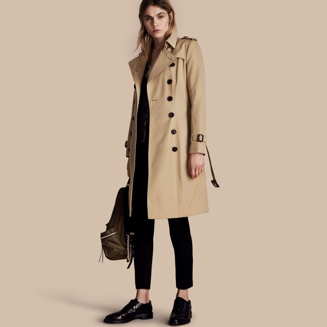 Burberry The Chelsea Long Heritage Coat