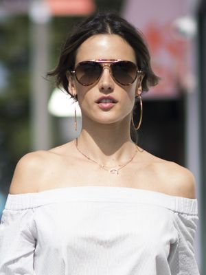 Alessandra Ambrosio Hit an All-Time Style High With This Outfit