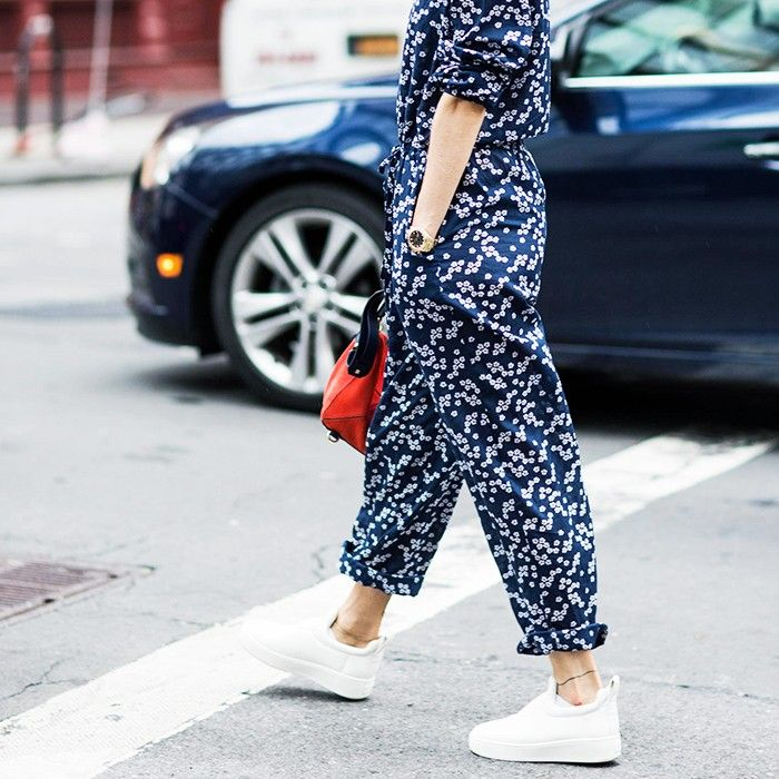Image result for sneaker and low cut sock street style