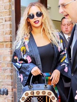 Beyoncé Just Wore 2 Major Trends at Once