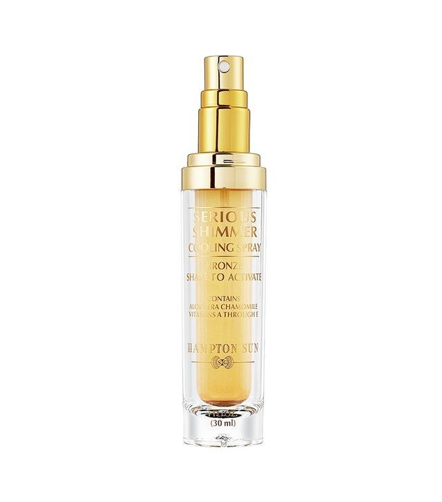 Hampton Sun Serious Shimmer Cooling Spray in Bronze