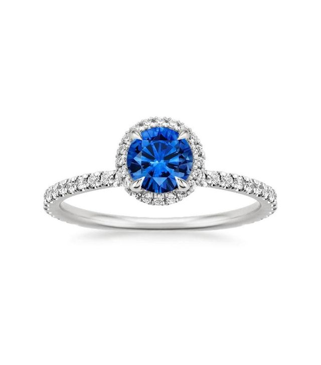 Brilliant Earth Saphire Waverly Diamond Ring