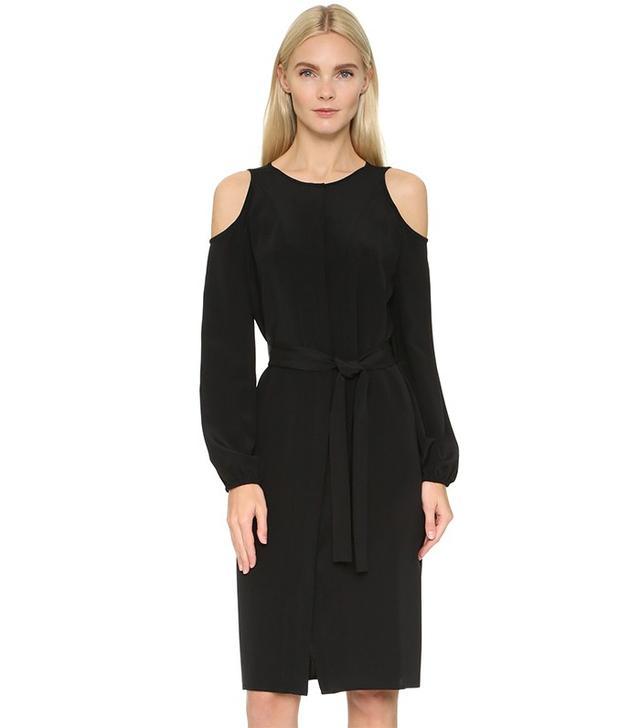 Tamara Mellon Cold Shoulder Dress
