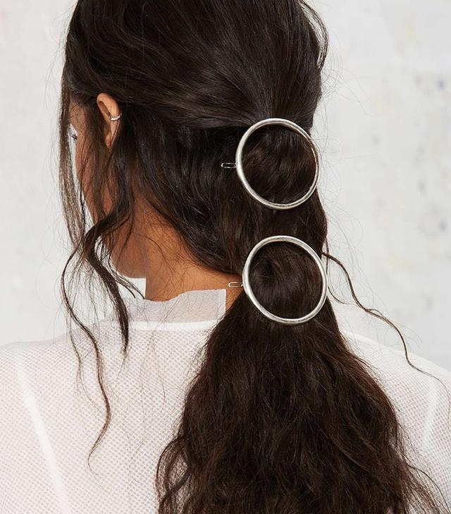 Nasty Gal Full Circle Hair Clip Set