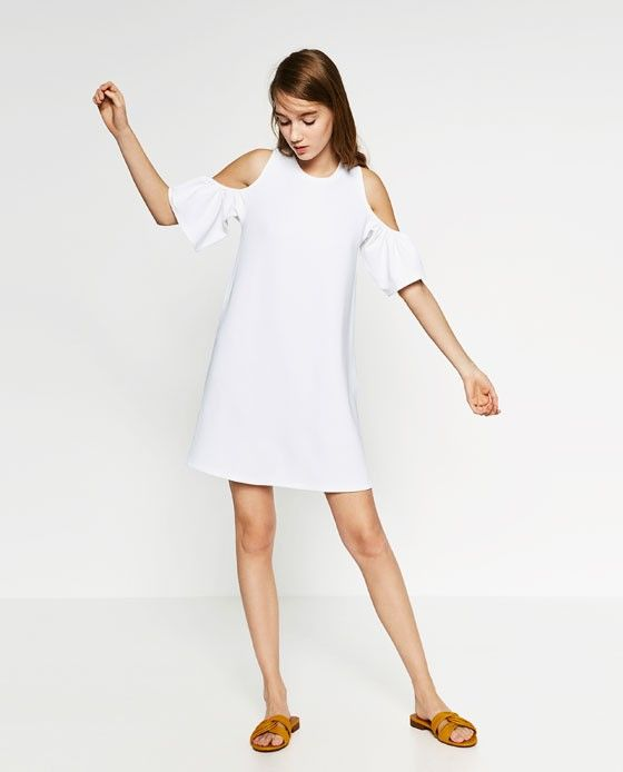 Zara Dress With Frills