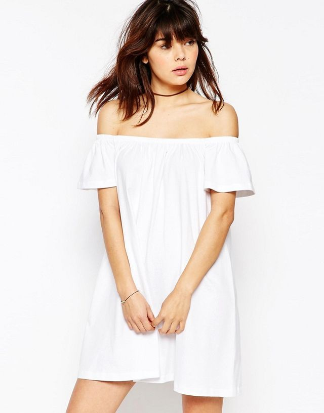 ASOS Off Shoulder Mini Dress